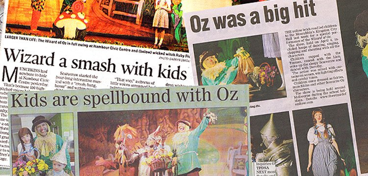 Kids are spellbound with Oz