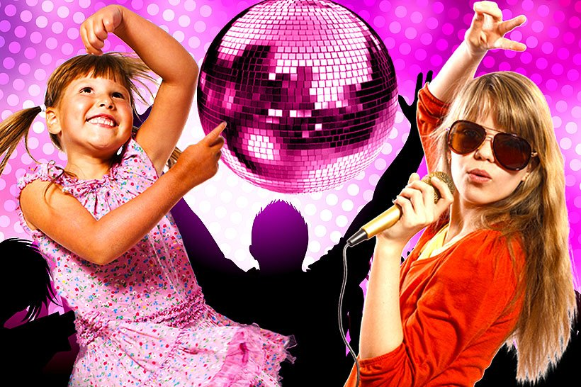 Kids Activities Karaoke Disco