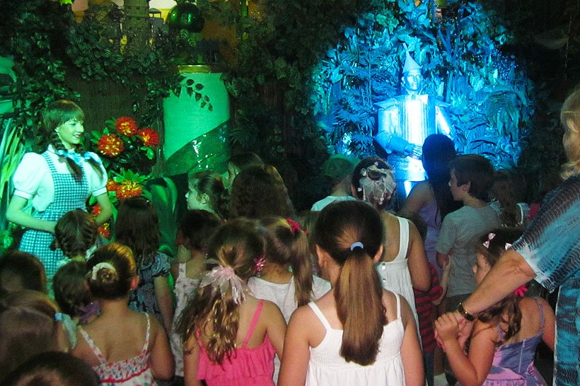 Kids Activities Oz Sound and Light