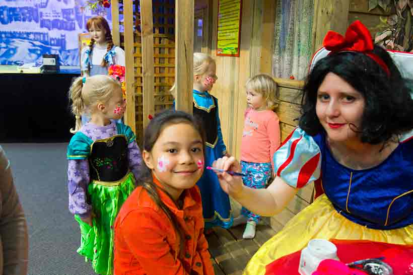 Kids Party Oz Funland Face Painting