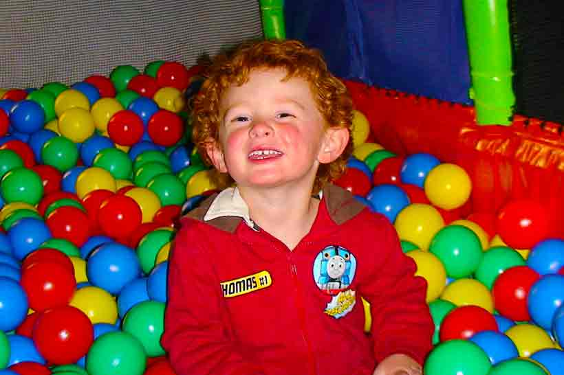 Kids Party Oz Funland Ballpit