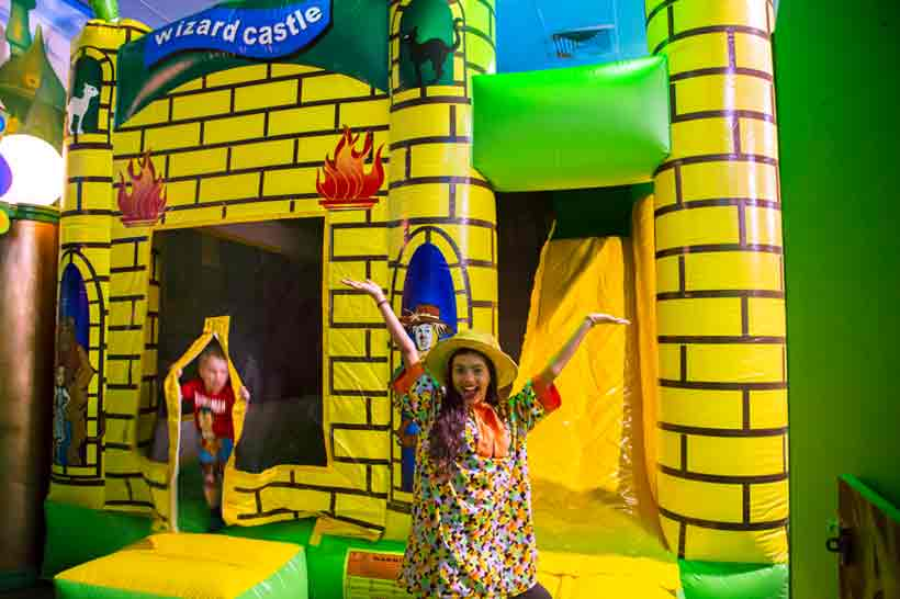 Kids Party Oz Funland Jumping Castle