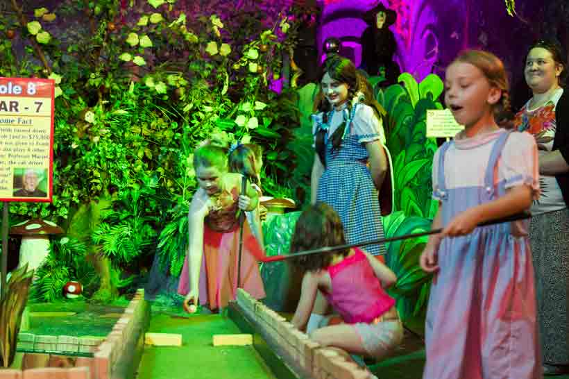 Kids Party Oz Funland Putt Putt Golf