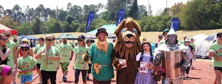 24 Hour Fight Against cancer with the Wizard of Oz Characters