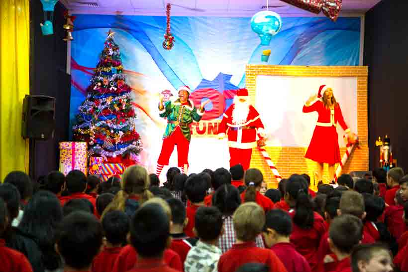 Venue Hire Sydney Oz Funland Christmas Parties
