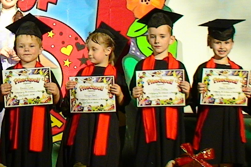 Venue Hire Sydney Oz Funland Pre-School Graduations