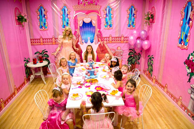 kids birthday party venue Oz Funland Princess Castle